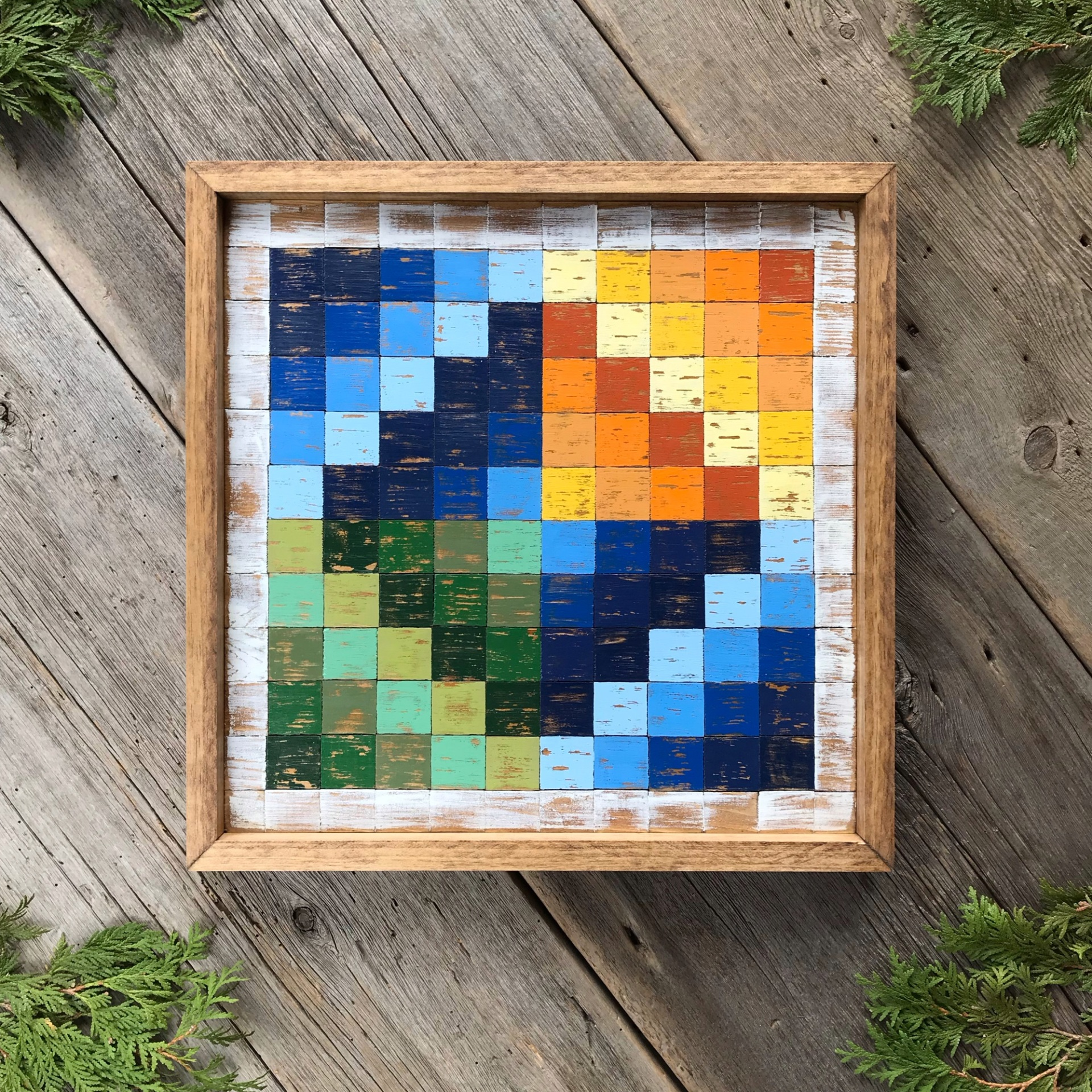 Barn Quilt, Wood Wall Art, Wood Quilt Square